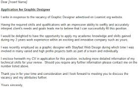 graphic designer cover letter example   job seekers forums