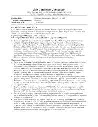 transportation s resume logistics supervisor resume s logistics lewesmr example resume and cover letter ipnodns ru