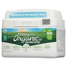 <b>Happy Baby</b> Stage 2 Infant Formula With Iron Powder - 21oz : Target