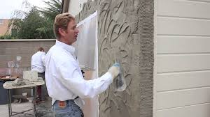 Small Picture Teaching instructions for Stucco textures finishes and or patterns