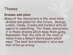 of mice and men themes essayof mice and men revision    themes