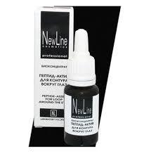 Купить <b>Пептид</b>-<b>актив для контура вокруг</b> глаз 15 мл New line ...