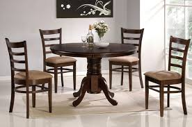kitchen table sets bo: dining table round espresso dining table murebo kitchen