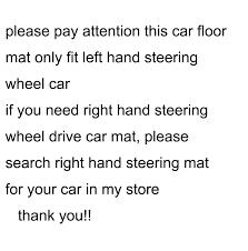 Hot Deal #03b8 - <b>Lsrtw2017</b> Leather <b>Car</b> Floor Mats Carpet Rug For ...