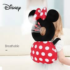 <b>Disney Large Baby Head</b> Protection Pad Toddler Headrest Pillow ...