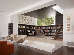 living room niche ideas living room modern with built in bookshelves lounge chairs built living room