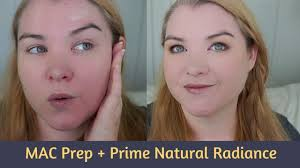 <b>MAC</b> Prep + Prime Natural Radiance - First Impression and Demo ...