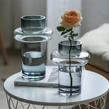 Buy 1 Piece Flower Vase Simple <b>Transparent Creative Glass</b> ...