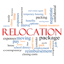 relocation word cloud concept moving solutions