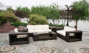 modern patio set outdoor decor inspiration wooden: outdoor furniture design ideas excellent home photo to a room cool