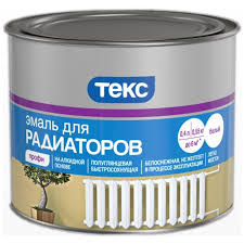 <b>Эмаль</b> для радиаторов <b>ТЕКС Профи</b> полуглянцевая белая 0,55 кг ...