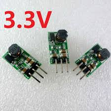 <b>3pcs</b> 1A DC 5V 6V <b>9V 12V 24V</b> to 3.3V DC DC Step Down Buck ...