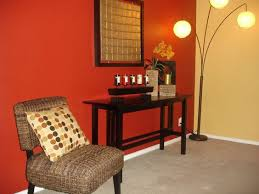 room paint red: red wall warm tones basement painting tips