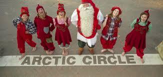 <b>Santa Claus</b> Village in Rovaniemi in Lapland Finland Arctic Circle