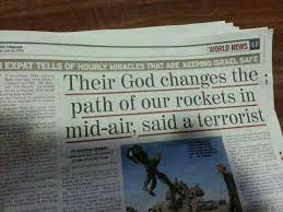 IDF Testimonies of Divine Intervention - Their God Changes the Path of our Rockets Testifies Hamas Terrorist
