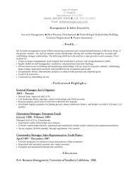 management  amp  sales executive resumefree resume templates