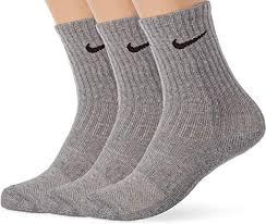 Nike Unisex <b>Kid's</b> Performance Cushioned Crew Socks (<b>3 Pair</b> ...