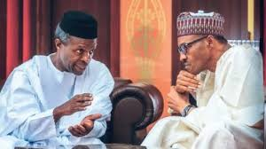 Image result for buhari osinbajo website