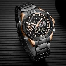 NAVIFORCE Casual Couple Watches <b>Luxury Lovers Wristwatch</b> ...