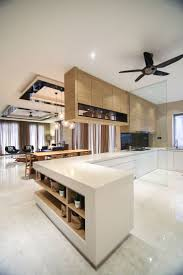 varde corner base cabinet kitchen furniture open dry and wet kitchen spaces combines a mix of light timber ceiling