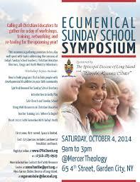 new ecumenical sunday school symposium camp dewolfe edli flyer sunday school symposium email