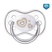 <b>Canpol пустышка</b> симметричная силиконовая, 6-18 мес. <b>newborn</b> ...
