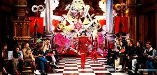 Image result for satanic fashions