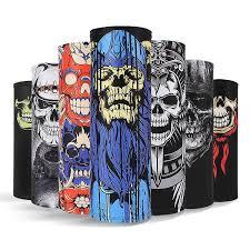 Annbaby Skull headscarf Halloween props <b>Seamless multifunctional</b> ...