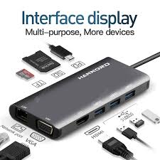 <b>Hannord</b> USB HUB Type C to <b>USB 3.0</b> HDMI Adapter Docking ...