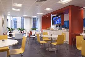 breakout area with television office design svg capital capital office interiors