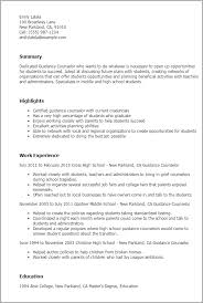 professional guidance counselor templates to showcase your talent    resume templates  guidance counselor