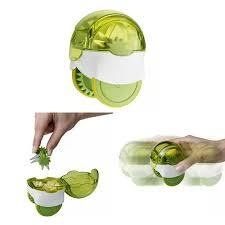 1pcs <b>Garlic Grater Mini Portable</b> ABS Stainless Steel Roller Garlic ...