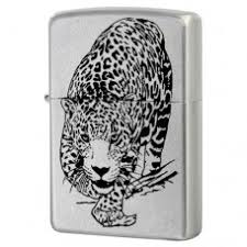 <b>Зажигалка Zippo 205 Leopard</b> Satin Chrome
