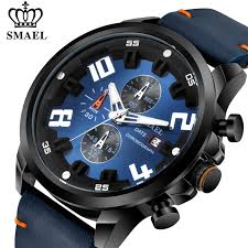 <b>Mens Watches</b> Luxury Brand <b>SMAEL</b> Chronograph Top Sport <b>Quartz</b> ...