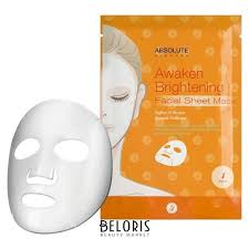 Маска для лица Awaken Brightening Facial Sheet Mask (<b>Absolute</b> ...