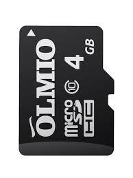 <b>Карта памяти</b> microSDHC <b>4GB</b> Class 10, без адаптера, OLMIO ...