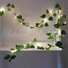 Ivy Fairy Lights <b>String</b> Lights 2m <b>20 LED</b> - <b>Wedding</b> Decorations - AA ...