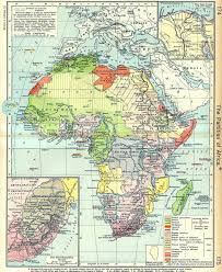 tanganyika 1922 map of africa
