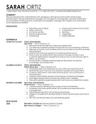 healthcare sales resumes examples clinic administrator to stand out myperfectresume sample healthcare sales resume