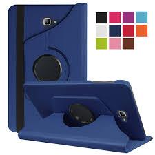 Tab A6 10.1 Case <b>360 Degree Rotating</b> Folio <b>PU</b> Leather Case Flip ...