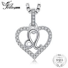 <b>JewelryPalace Zodiac</b> Constellatio Leo Heart Love 0.2ct Cubic ...