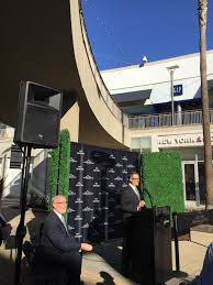 hello del amo fashion center expansion opening celebration mr contis emphasized what the new del amo mall was all about in his speech he said you can t dine you can t have fun on the internet but you can gather