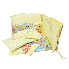 """<b>Комплект в кроватку Сонный</b> Гномик """"Лежебоки"""", цвет: желтый, 7 ..."""