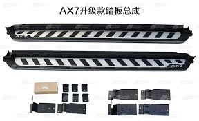 Штатные <b>боковые</b> пороги ORIGINAL для <b>Dongfeng AX7</b>