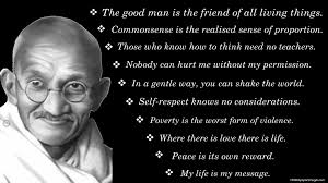 Mahatma Gandhi Quotes on Customers images