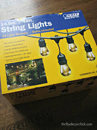 best string lights for outside outdoors string enter the rave reviews from all of you about the costco version and what do you know after i got them home i realized they were the