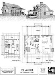 ideas about Small Cabin Plans on Pinterest   Cabin Plans    Small Cabin Floor Plan   Max Fulbright Designs