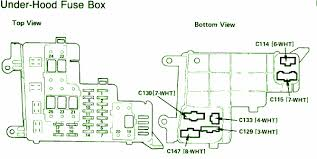 similiar honda accord fuse box diagram keywords 1991 honda accord l x fuse box diagram