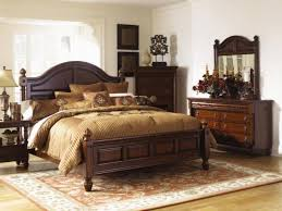 sable dark wood bedroom set bed nightstands dresser mirror with bedroom furniture dark wood