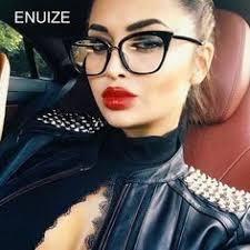 Women Designer Optical <b>Eyeglasses</b> Prescription Stylish Female ...